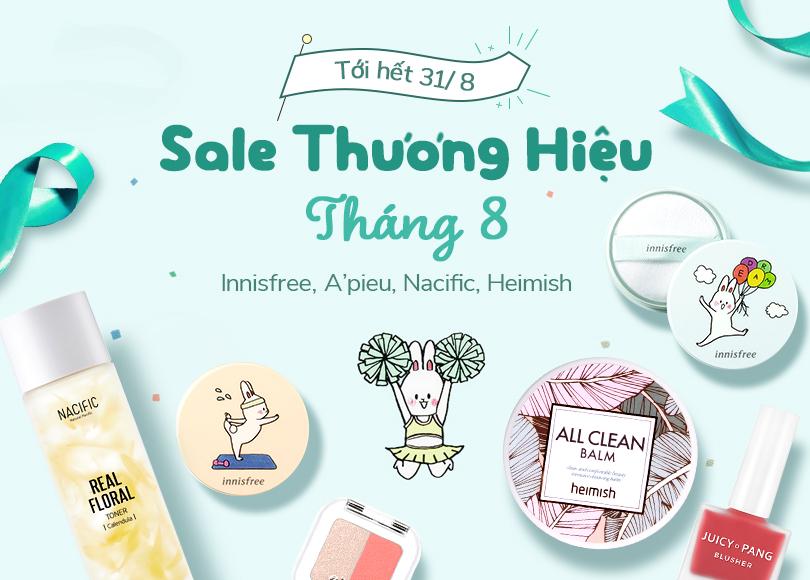 Sale Thuong Hieu Thang 8